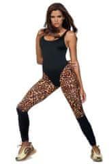 LORIN Fitness legíny Lea zvířecí vzor