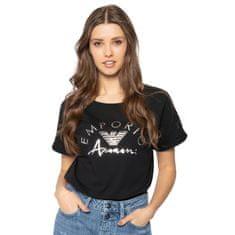 Emporio Armani Dámské tričko 164340 0P291 00020 černá - Emporio Armani