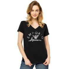 Emporio Armani Dámské tričko 164334 0P291 00020 černá - Emporio Armani
