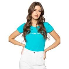 Emporio Armani Dámské tričko 163139 0P317 00383 modrá - Emporio Armani