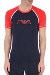 Emporio Armani Pánské tričko 111811 0P529 00135 modročervená - Emporio Armani