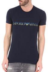 Emporio Armani Pánské tričko 111035 0P516 00135 tmavěmodrá - Emporio Armani