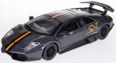 BBurago 1:24 Lamborghini Murciélago LP 670-4 SV model auta, siva