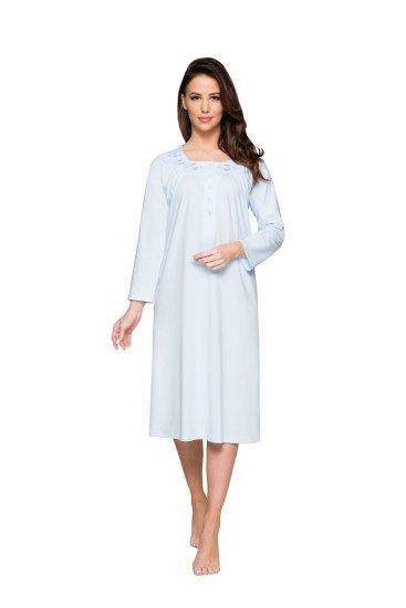 Regina Dámská noční košile Regina 074 dł/r 2XL-3XL okrová XXL