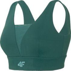 4F Sportovní podprsenka 4F STAD404 Zelená