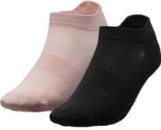 4F Dámské sportovní ponožky 4F SOD209 Růžové, černé