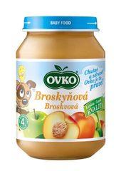 OVKO OVKO výživa detská broskyňová 190g (bal. 12ks)