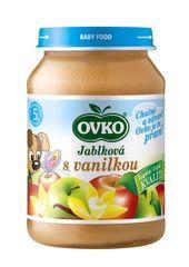 OVKO výživa detská jablková s vanilkou 190g (bal. 12ks)