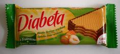 Diabeta oblátka lieskovo oriešková s fruktózou 32g (bal. 24ks)