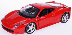 BBurago 1:24 Ferrari 458 Italia model auta, crvena
