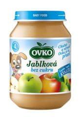 OVKO OVKO výživa detská jablková bez cukru 190g (bal. 12ks)
