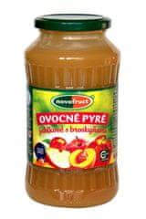 NOVOFRUCT NOVOFRUCT Ovocné pyré - jablk.s broskyňami 700g (bal. 8ks)