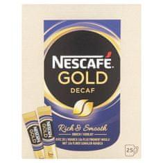NESCAFE GOLD káva instantná bez kofeínu 25ks 50g (bal. 12ks)