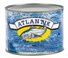 NULL ATLANTIK tuniak v rastlinnom oleji kúsky 1700g