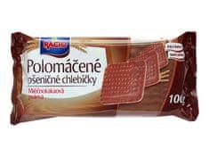 RACIO RACIO chlebíčky pšeničné s mliečno-kakaovou polev 100g (bal. 20ks)