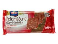 RACIO RACIO chlebíčky ryžové s mliečno-kakaovou polevou 100g (bal. 20ks)
