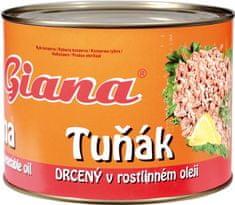 Giana  tuniak sendvičový v oleji 1705g