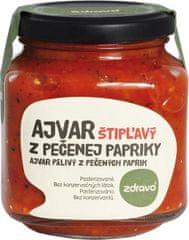 Zdravo Ajvar z pečenej papriky štipľavý 300g (bal. 6ks)