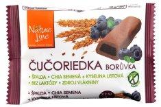Nature Line Celozrnné sušienky s čučoriedkovou náplňou. 50g (bal. 15ks)