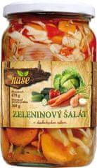 Naše Zeleninový šalát 670g (bal. 6ks)