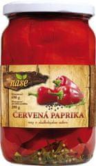 Naše Červená paprika rezy 690g (bal. 6ks)