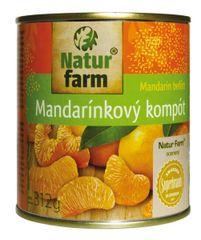 Kompót Mandarinky Natur.Farm 312g (bal. 24ks)