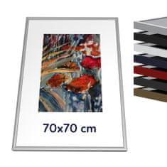 Thalu Kovový rámik 70x70 cm