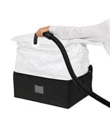 Compactor Vakuový úložný box XXL 210 litrů - 3D Black Edition s vyztuženým pouzdrem 50 x 65 x 27 cm