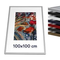 Thalu Kovový rámik 100x100 cm
