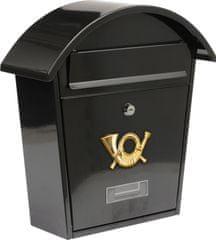 Vorel Poštovní schránka 380 x 320 x 105mm černá TO-78585 VOREL