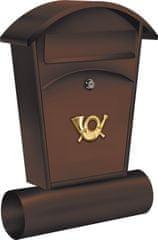 Vorel Poštovní schránka 480 x 280 x 80mm hnědá TO-78592 VOREL