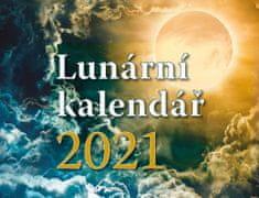 Lucia Jesenská: Lunární kalendář - stolní kalendář 2021