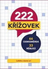222 křížovek - 66 osmisměrek, 33 rébusů