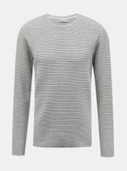 Lindbergh šedý pánský svetr