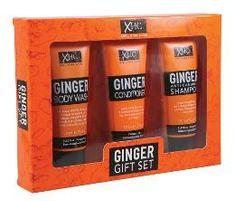 Xpel Ginger šampon + kondicionér + sprchový gel 3 x 100 ml