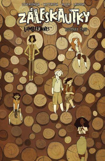 Stevenson Noelle, Ellis Grace, Watters S: Záleskautky - Lumberjanes 4