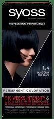 Syoss Baseline Color boja za kosu, 1-4 plavo-crna