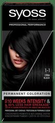 Syoss Baseline Color barva za lase, 1-1 črna