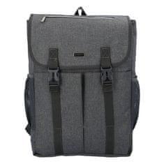 Coveri WORLD Univerzální batoh Coveri simply, šedý