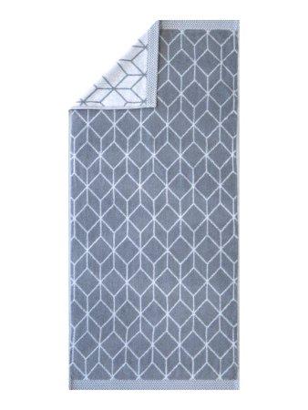 Framsohn Prisma törölköző 50x100 cm, szürke