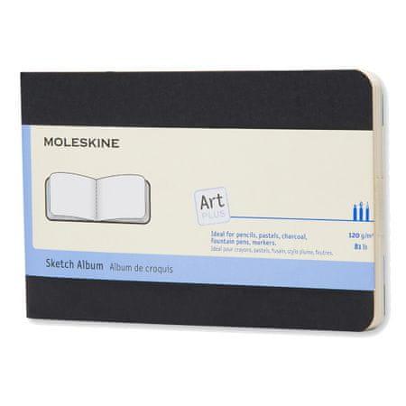 Moleskine Art Plus Cahier blok za crtanje, mali, crni