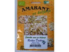 Amarant redkev Daikon eko za kaljenje, veliko pakiranje