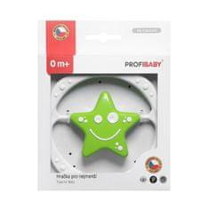 Profibaby Kruh- hvězdička v krabičce, zeleno-bílý