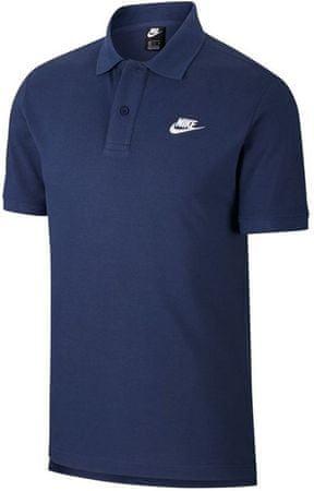 Nike férfi póló Sportswear, S, kék