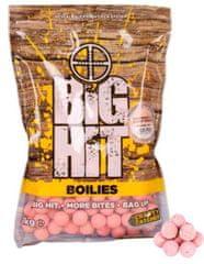 Crafty Catcher Big Hit Boilies Raspberry & Black Pepper +POP UP 15mm, 1kg