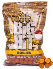 Crafty Catcher Big Hit Boilies Spicy Krill & Garlic +POP UP 15mm, 1kg