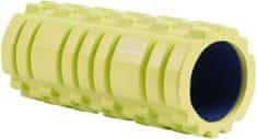 Hudora Medium masažni valjak, 14 cm, žuti