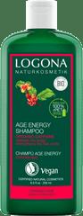 LOGONA Šampón Age energy s BIO kofeínom - 250ml