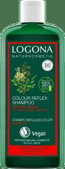 LOGONA Šampón Henna – hnedé a farbené vlasy - 250ml