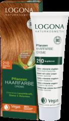 LOGONA Krémová farba na vlasy copper red - 150ml
